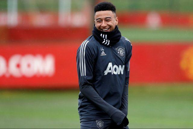 man-utd-jesse-lingard-training